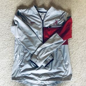 Alabama 3//4 zip  pullover-Nike